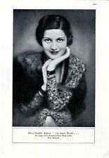 Nadja Latka Zwei dunkle Augen - ein roter Mund... ( Badekow )  c.1930