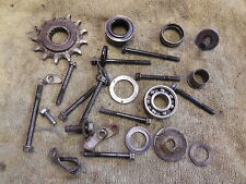 1988 Honda CR250 Hardware parts lot case bolts etc. 88 CR 250