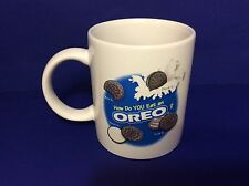 Oreo Cookie Mug How Do You Eat An Oreo? Coffee Cup