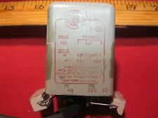 utc a-23 audio transformer 500 ohm to 16 ohm