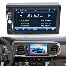 HD 7'' Touch Bluetooth Car Radio FM Stereo MP3 MP5 Player AUX USB/ 2DIN UK NEW