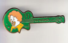 RARE PINS PIN'S .. MC DONALD'S  RESTAURANT RONALD GUITARE GUITARE USA 1998 ~14