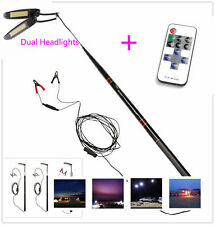 5.4M Dual LED Telescopic Fishing Rod Remote Control Lantern Camping Lamp Light