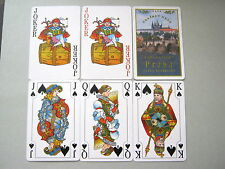 PLAYING CARDS VINTAGE NON STANDARD RISCH LAU POLISH SUPERB COURTS & JOKERS 52+2J