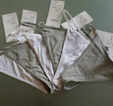 4 Brand New With Tags Private Property G-strings Size 10-12