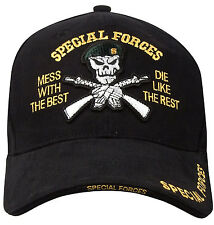 military special forces hat ball cap 3 d embroidery rothco 9696