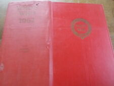 WHO'S WHO 1962 Annual Edition 3403 pages Enormously Thick Book 1960s