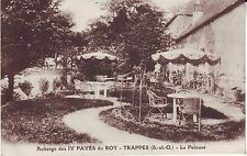 France Trappes - La Pelouse 1928 mailed postcard