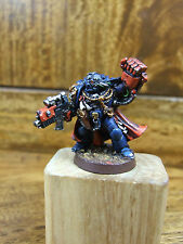 METAL LIMITED EDITION GAMESDAY 1999 SPACE MARINE CAPTAIN WELL PAINTED (2457)
