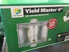 "Sun System SunGro 6"" Air-Cooled Reflector - 6"" Yield Master Air Coolable SunGrow"