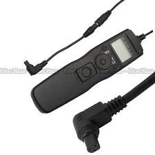 LCD Timer Remote Shutter Release Cord for Canon 7D 5D Mark II III IV 1Dx 5Ds R