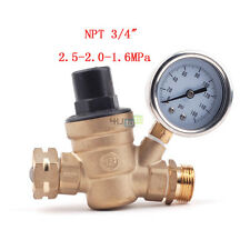 RV Water Pressure Regulator Brass Lead-free Adjustable Water Pressure Reducer