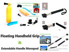 GZ8 Floating Handheld Grip & Extendable Handheld Monopod Mount for Action Cam