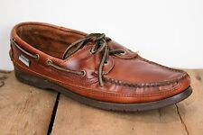 SEBAGO Docksides Brown Leather Loafers Boat Shoes Women's Sz. 11N