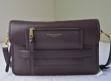 Marc Jacobs Rubino Wine Leather Madison Large Leather Shoulder