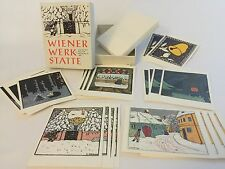 Vintage Rare MMoA Wiener Werkstatte Boxed Holiday Cards 22 count