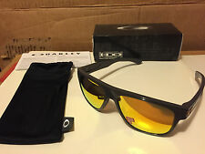 NEW Oakley - Toxic Blast Breadbox - Dark Grey / Fire Iridium Polarized OO9199-28