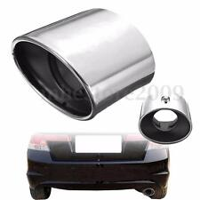 Rear Exhaust Tip Tail Pipe Muffler Chrome Stainless Steel For Honda Accord 08-12