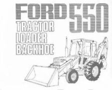 FORD DIGGER BACKHOE LOADER 550 PARTS MANUAL