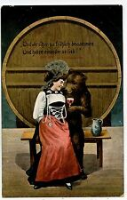 OURS HUMANISé. BEAR HUMANIZED.L'AMOUR.LOVE.ALCOOL. ALCOHOL.FEMME.WOMAN.