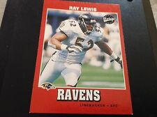 Lot #2 (6) Assorted Ray Lewis Football Cards