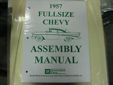 1957 FULLSIZE CHEVY (ALL MODELS) ASSEMBLY MANUAL
