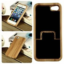 New!For iPhone 5/5s Luxury OG Natural Carved Wood Wooden Hard Case Cover Protect