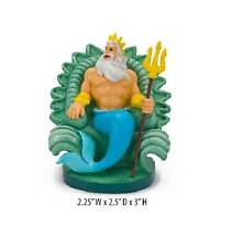 Penn Plax Little Mermaid King Triton Fish Aquarium Ornament MED LMR10