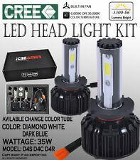 JDM Fit all D4S D4R D4C 6000K 30000K Error Free CREE COB LED bulbs KIT Low BEAM