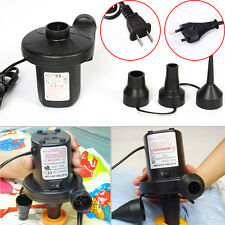 1*Portable AC Electric Air Pump Inflator for Toys Boat Air Bed Mattress Pool RO