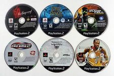 PLAYSTATION 2 PS2 VIDEO GAME LOT 50 CENT BULLETPROOF LORD OF THE RINGS SPLINTER