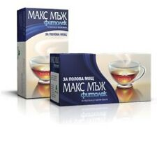 "Phytolek Herbal Tea ""MAX MAN""  - Increases Stamina and Potency x 20 in Box"
