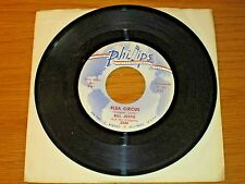 "INSTRUMENTAL 45 RPM - BILL JUSTIS - PHILLIPS 3544 - ""FLEA CIRCUS"" + ""CLOUD NINE"""