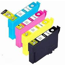 4 Pack of Epson T126 Replacement Ink Cartridges (1BK, 1C, 1M, 1Y) for the E