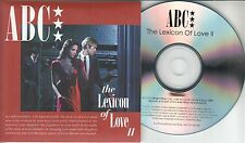 ABC Lexicon Of Love II 2016 UK 11-trk numbered promo test CD