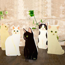 Decorative Cute Standing Cat GREETING CARD DIY Birthday Valentines Get Well Gift