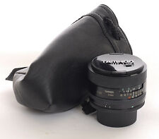 Tamron 24mm f2.5  manual focus lens with a M42 Adaptell mount (7428)