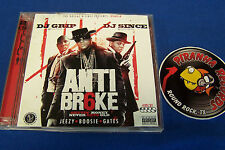 DJ Grip Anti Broke 6 Texas Rap CD Dollaz N Since #ABSIX Piranha Records
