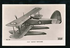 Aircraft Air Force Military RAF SEAFOX Seaplanes RP PPC by Valentine