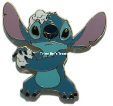 DISNEY Shopping Pin LE 250 - Stitch with Snow Ball - Winter Sport Series