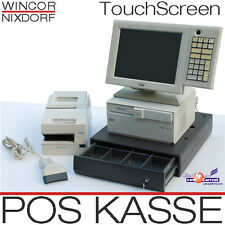 WINCOR POS TILL TFT TOUCHSCREEN POS MONITOR RECEIPT PRINTER BAR SCANNER DRAWER