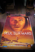 THE MARTIAN Huge Giant 4x6 ft D/S French Marvel Movie Poster Original 2015