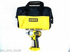 "New Dewalt DC820 18V 1/2"" Cordless Battery Impact Wrench, W/ Tool Bag, 18 Volt"
