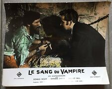 Photo Originale SANG DU VAMPIRE Blood Of the Vampire DONALD WOLFIT Henry Cass *d