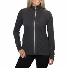 NEW Kirkland Signature Ladies' Brushed Stretch Full Zip Jacket Charcoal S