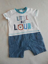 Baby Boys Clothes 0-3 Months- Cute Romper Suit Outfit - New