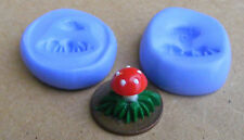 Silicon Rubber Toadstool 2 Part Mould Dolls House Miniature Fairy Accessory L
