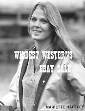 MARIETTE HARTLEY Photo CUTE Twilight Zone SEXY COWGIRL Ride the High Country