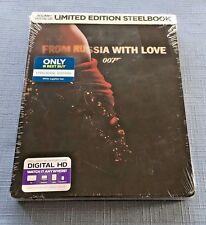 From Russia With Love: Limited Edition Steelbook (Blu-ray + Digital HD)