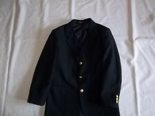 Boys ARROW Navy 15% Wool BLAZER JACKET Size 12 R Regular Dressy Suit Coat